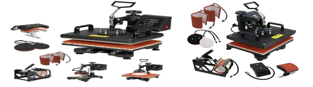 How to use heat press machine for printing
